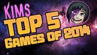 Kim's Top 5 Games 2014