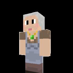 Granny Bacon's normal skin.