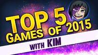Kim's Top 5 Games 2015