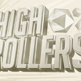 High Rollers D&D logo (Episodes 3 to 6)