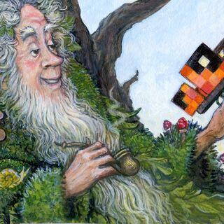 Credited fan-art of Swampy by Ingrid Kallick.