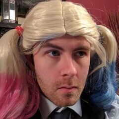 Sjin's current Twitter avatar of his alter ego Harley Sjin