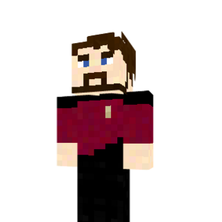 The original William Riker skin.