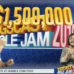 $1,500,000 raised within the first 48 hours of the Jingle Jam