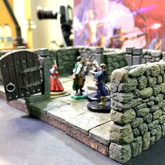 Sometimes 3D dungeon map pieces are used too. Lightfall Episode 6 is the first usage of the map pieces.