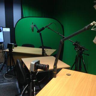 Former livestream set-up