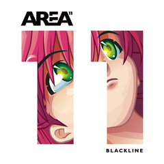 The cover art of their first EP, Blackline.