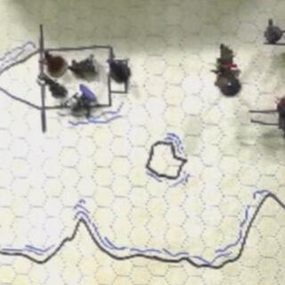 An underground rapid in the <a href=