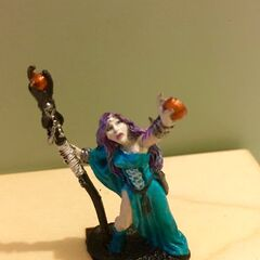 Old miniature of Elora