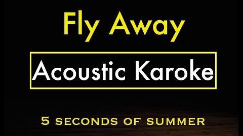 Fly Away - 5SOS Karaoke Lyrics (Acoustic Guitar Karaoke) Instrumental