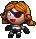 Trinket-Widow Queen doll