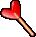 Trinket-Heart lolly