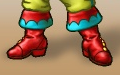 Portrait-clothing-male-feet-Fancy boots