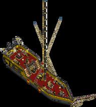 Roister class sloop Main Deck