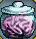 Trinket-Brain in a jar