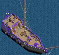 Cursed class sloop Main Deck