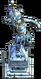 Furniture-Atlantean priestess statue