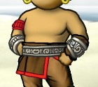 Portrait-clothing-male-torso-Belt and bracers