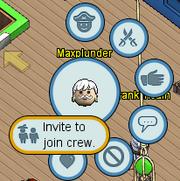 Join crew illustration
