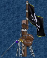 Cursed class sloop Crow's Nest