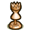 Trophy-Bronze Hourglass