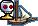 Roister class sloop dock