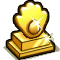 Trophy-Gold Eye of Flame