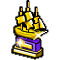 Trophy-Gold Merchant Galleon