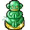 Trophy-Jade Monkey