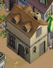 Left-Townhouse Exterior