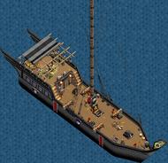 Rogue class dhow Main Deck