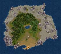 Oasis Island (Cerulean)
