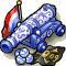 Trophy-Delftware Cannon