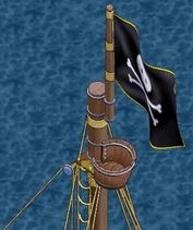 Atlantean class war frigate Fore Crow's Nest