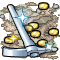 Trophy-Silver Pickaxe