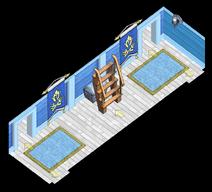 Atlantean class war frigate Hallway
