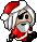 Trinket-Plush pirate santa