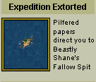 Expedition extorted
