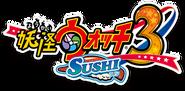 Yo-kai Watch 3 Sushi logo