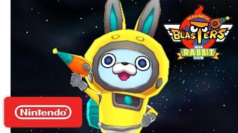 YO-KAI WATCH BLASTERS - Moon Rabbit Crew Trailer - Nintendo 3DS