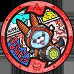 B-Usapyon Yo-kai-Medaille