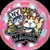KK Brothers Yo-kai-Medaille