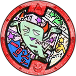 Ittan-Sorry Yo-kai-Medaille