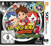 Youkai Watch 2 Ganso 3DS Cover