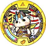 Sun-Ce-Komasan Yo-kai-Medaille