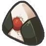 Pflaumen-Reisball