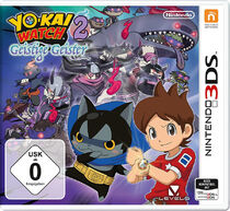 Youkai Watch 2 Shinuichi 3DS Cover