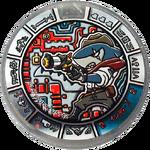 Indy Jaws Silber Yo-kai-Medaille