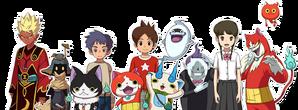 YW4 Yo-kai und Menschen