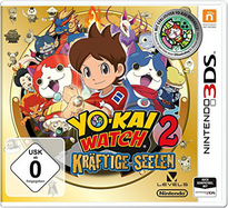 Youkai Watch 2 Honke 3DS Cover
